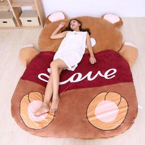 Super Bear Mascot Sofa Tatami Mattress Sleeping Bags Cute Sofa Cartoon Bed Gifts