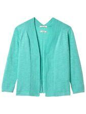 White Stuff River Cotton Cardigan Turquoise BlueSize 12