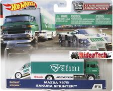 Hot Wheels 2020 Team Transport Mazda 787B & Sakura Sprinter 1/64 Diecast