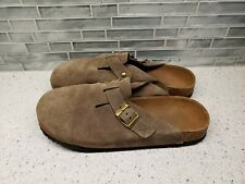 New Earthies Comfortable Suede Slip On Sandals Slides Womens Sz 10