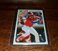 BRYCE HARPER #TBT SP PRINT RUN ONLY /872! 2020 Topps Throwback Thursday #TBT #98