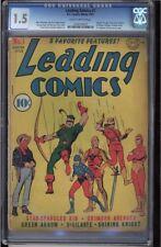 LEADING COMICS #1 CGC 1.5  2ND APP OF GREEN ARROW & VIGILANTE COVER #1202546001