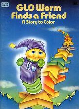Glo Friends coloring book RARE UNUSED