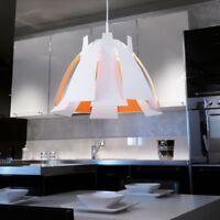 Design Pendelleuchte weiß Ø55cm Hängeleuchte Küchenlampe Wohnzimmer Pendel Lampe