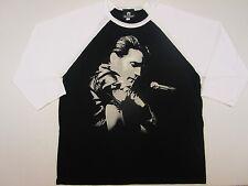 Elvis Presley Shirt T Shirt 1968 Size 2 XL  Black White Big Tall NWOT