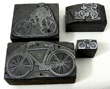 tampon matrice sceau cyclisme velo ancien