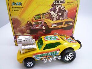 VINTAGE MATCHBOX SPEEDKINGS K43 CAMBUSTER DRAG RACING CAR IN ORIGINAL BOX 1972