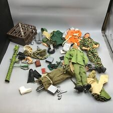 Vintage G.I. Joe 12inch Figures and Accessories Lot - Weapons / Clothes / Etc