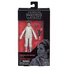 Guerra DE LAS GALAXIAS la serie negra Princesa Leia Hoth figura de 6 Pulgadas-Nuevo en la acción