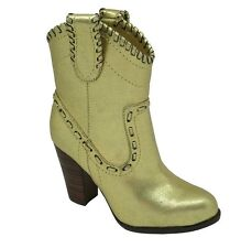Buffalo 411-10173 Leather Metallic PU [Size 37/ 38/ 39/ 40/ 41] 152400 Gold New