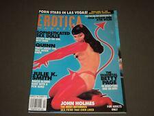 2000 SUMMER EROTICA MAGAZINE - GREAT COVER & PHOTOS INSIDE - K 1585