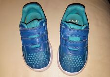 Girls Infant Clarks Trainers Size 6 G