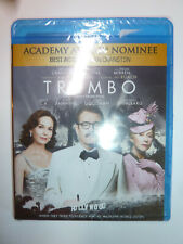Trumbo Blu-Ray drama movie Bryan Cranston as writer Dalton Trumbo NEW!