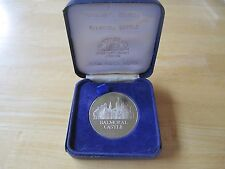 Balmoral Castle Medal in original holder,  Exclusive Edition The Tower Mint