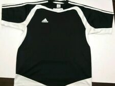 Black and White Adidas Mens Polo Style Shirt Size M Activewear