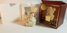 Lenox Occasions Santa Votive Candle Holder Porcelain 2003 New in Box