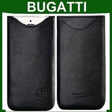 Genuino Original Bugatti Slip Funda de Cuero para iPhone 7 7s Plus Teléfono Inteligente Cubierta