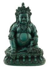 Statue tibetaine  Jambhala Dieu des Richesses Vaishravana 15cm Turquoise 25533
