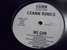 Leann Rimes We Can Curb Records 2003 promo 12 inch VG+