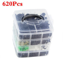 620Pcs Boxed 24Sizes Auto Fastener Bumper Clips For Car Repair Replacement ITEMS