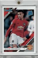 2019-20 Panini Donruss Mason Greenwood Rated Rookie RC #109 Base Chronicles