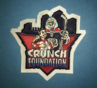 Rare Syracuse Crunch Foundation AHL Hockey CCM Jersey Shoulder Patch Crest