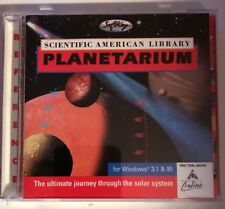 Scientific American Library Planetarium Win 3.1 & 95 (Cd)