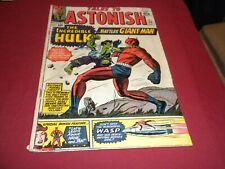 DA1 Tales to Astonish #59 marvel 1964 silver age 4.0/vg comic! 1ST HULK IN TTA!!