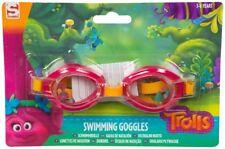 Trolls Girls Swimming Goggles Poppy & Branch Kids Holiday Summer Beach Pool 3+