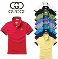 Gucci Regular Size Short Sleeve Casual Shirts & Tops for Men