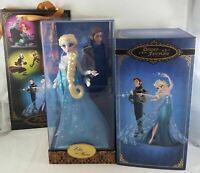Disney Store Frozen Elsa & Hans Fairytale Designer Dolls Collection LE 0293/6000
