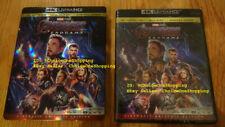 Sealed New Avengers Endgame Digital Copy Code + 4K Ultra HD UHD Blu-ray Slipcase