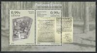 Lithuania 2019 MNH Block Lithuanian Partisan after WW2.Fight of independence **