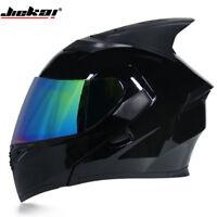 JIEKAI Full Motorcycle Helmets DOT Approved Flip Up Motocross Off Road Helmet