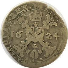 Spanische Niederlande 1/4 Brabant Patagon 1624 Philipp IV.