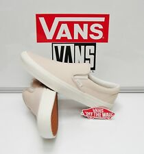Vans Classic Slip On Leather Whispering Pink Blanc VN0003Z4IFN Women's Size: 9.5