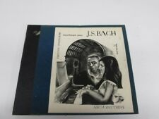 78tk album-Classical piano-ASCH DM 102- Bach,Erno Balogh-2 part inventions-4disc