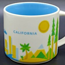 Starbucks You Are Here Collection Coffee Mug California Cup 2013 14 ounce