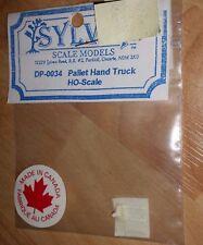 HO SCALE SYLVAN DP-0034 Pallet Hand Truck NIP