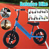 Kids Children Balance Bike Learning Walk Bicycle Walking Training Without Pedal!