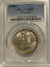 1938 Arkansas Commemorative Half Dollar, PCGS MS-65