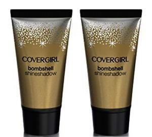 2 Covergirl Bombshell Shine Shadow Shimmer Eye Finish Copper Fling 325 UNCARDED