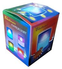 Electronic Candle Multi-Colour Light