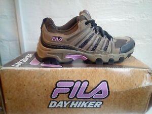 Fila DayHiker Women'sTrainers size 4.5. UK Seller FREE P&P