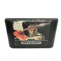 Revenge of Shinobi (Sega Genesis, 1989) Authentic Cartridge