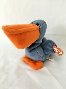 TY Beanie Baby SCOOP The Pelican1996 Plush Stuffed animal toy