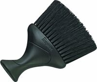 Denman D78 Black Neck Duster Brush with Extra-Soft Nylon Bristles