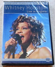 WHITNEY HOUSTON Live in Virginia DVD SOUTH AFRICA #REVDVD400