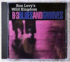 Ron Levy's Wild Kingdom B-3 Blues and Grooves CD NM Funk Funky Jazz Organ Breaks