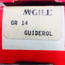 2 New McGill Guiderol Needle Roller Bearing, GR-14 Lot Of Two